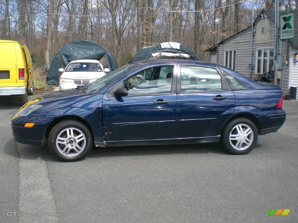 2003 twilight blue metallic ford focus se sedan 12956432 car color galleries. Black Bedroom Furniture Sets. Home Design Ideas