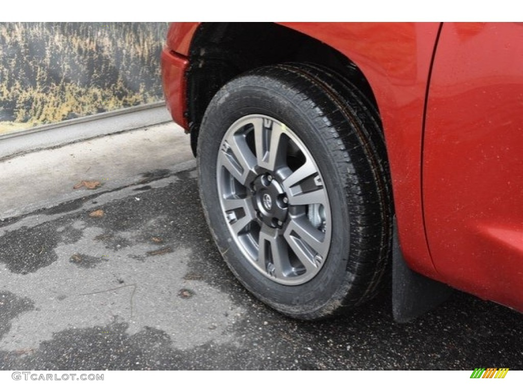 2019 Tundra Platinum CrewMax 4x4 - Barcelona Red Metallic / Black photo #34