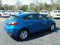 Kinetic Blue Metallic - Cruze LT Hatchback Photo No. 5