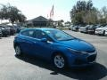 Kinetic Blue Metallic - Cruze LT Hatchback Photo No. 7