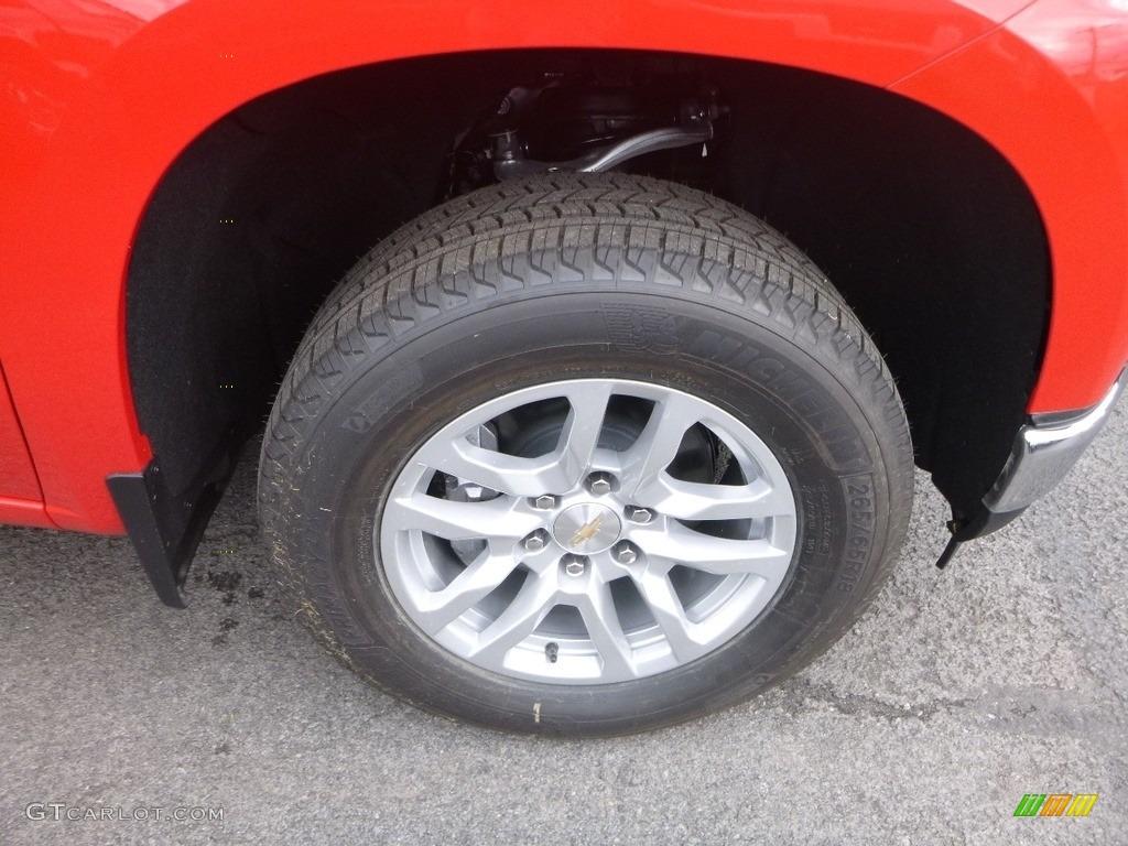 2019 Silverado 1500 LT Crew Cab 4WD - Red Hot / Jet Black photo #2