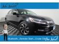 Crystal Black Pearl 2017 Honda Accord Touring Sedan