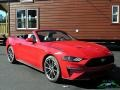2019 Race Red Ford Mustang EcoBoost Convertible  photo #7