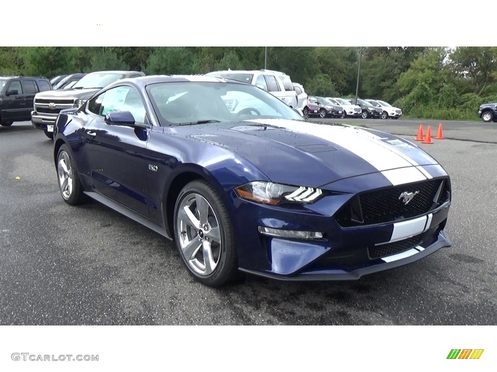 2019 Kona Blue Ford Mustang Gt Premium Fastback 129904779