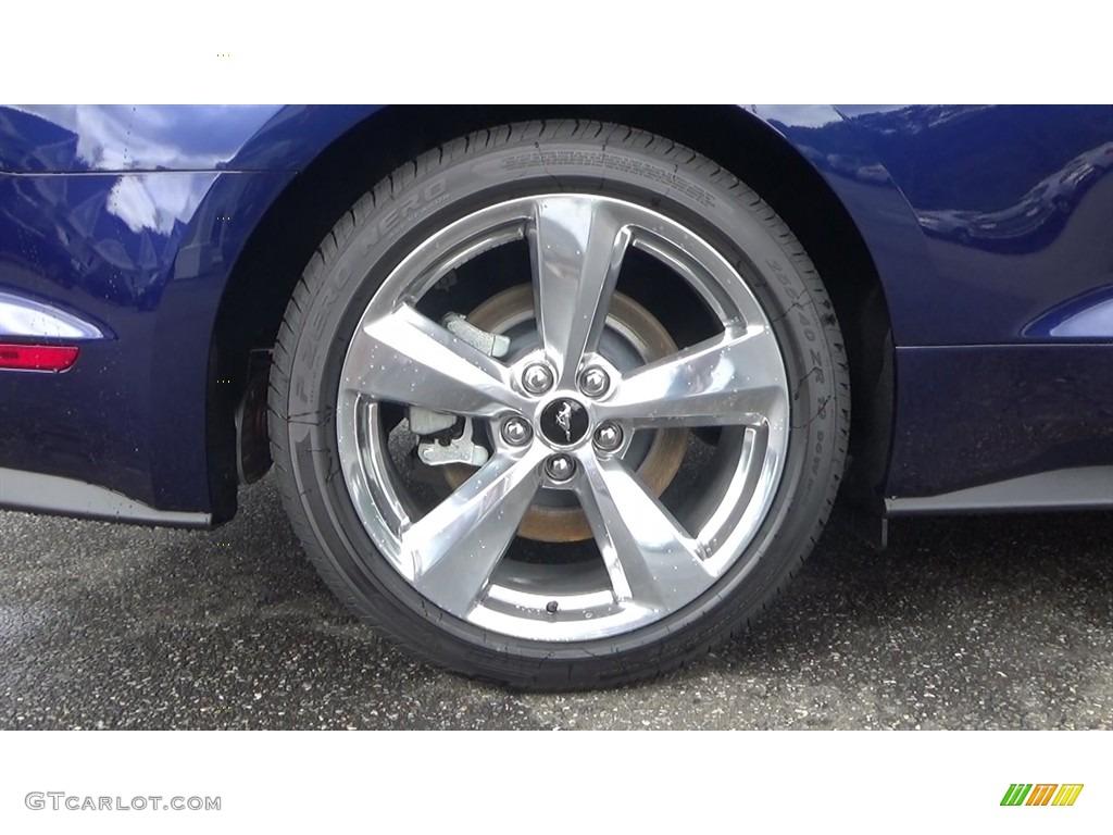 2019 Mustang GT Premium Fastback - Kona Blue / Ebony photo #21