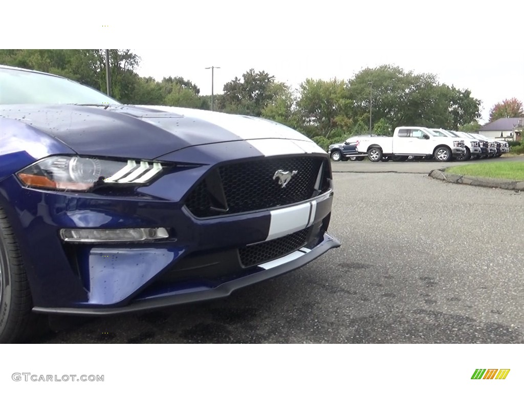 2019 Mustang GT Premium Fastback - Kona Blue / Ebony photo #26