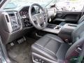 2017 Graphite Metallic Chevrolet Silverado 1500 LTZ Double Cab 4x4  photo #30