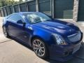Opulent Blue Metallic 2012 Cadillac CTS -V Coupe