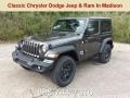 Granite Crystal Metallic 2018 Jeep Wrangler Sport 4x4