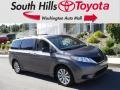 2014 Predawn Gray Mica Toyota Sienna LE AWD  photo #1