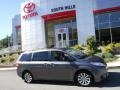 2014 Predawn Gray Mica Toyota Sienna LE AWD  photo #2