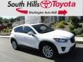 Crystal White Pearl Mica 2014 Mazda CX-5 Grand Touring AWD