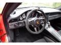 Black/Lava Orange Steering Wheel Photo for 2016 Porsche 911 #130013133