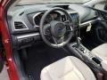 Ivory Interior Photo for 2019 Subaru Impreza #130014216