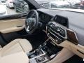2019 BMW X3 Mocha Interior Dashboard Photo