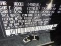 2019 HR-V Sport AWD Crystal Black Pearl Color Code NH731P