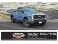 2019 Cavalry Blue Toyota Tundra TRD Off Road Double Cab 4x4  photo #1