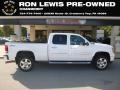 Summit White 2012 GMC Sierra 2500HD Denali Crew Cab 4x4