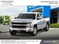 Silver Ice Metallic - Silverado 1500 LT Double Cab 4WD Photo No. 4