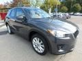 Meteor Gray Mica - CX-5 Grand Touring AWD Photo No. 8