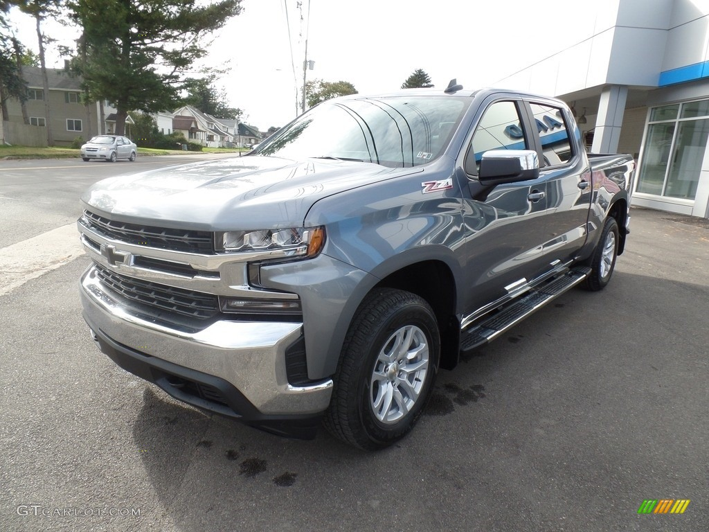2019 Silverado 1500 LT Crew Cab 4WD - Satin Steel Metallic / Jet Black photo #1