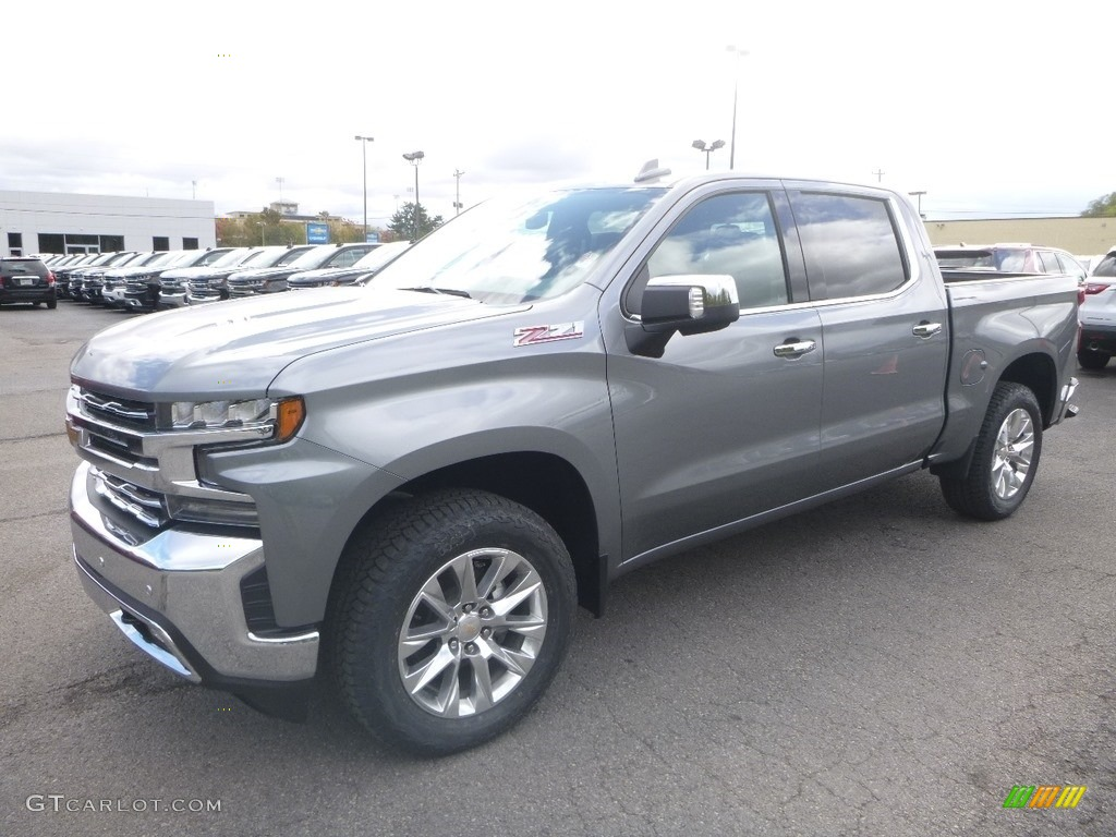 2019 Silverado 1500 LTZ Crew Cab 4WD - Satin Steel Metallic / Jet Black photo #1