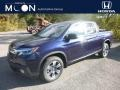 Obsidian Blue Pearl 2019 Honda Ridgeline RTL AWD