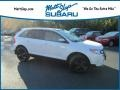 White Platinum Tri-Coat 2013 Ford Edge SEL