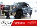 2019 Cavalry Blue Toyota Tundra TSS Off Road CrewMax 4x4  photo #1