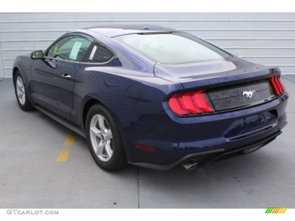 2019 Mustang EcoBoost Fastback - Kona Blue / Ebony photo #7