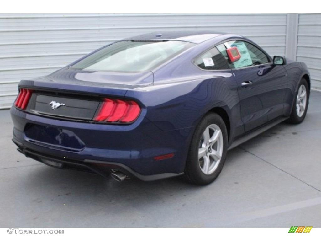 2019 Mustang EcoBoost Fastback - Kona Blue / Ebony photo #9