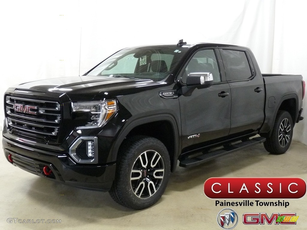 2019 Onyx Black Gmc Sierra 1500 At4 Crew Cab 4wd 130121319 Gtcarlot Com Car Color Galleries