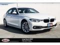 Alpine White 2018 BMW 3 Series 320i Sedan