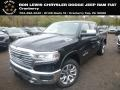 Diamond Black Crystal Pearl 2019 Ram 1500 Long Horn Crew Cab 4x4