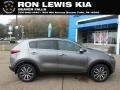 Mineral Silver 2019 Kia Sportage EX AWD