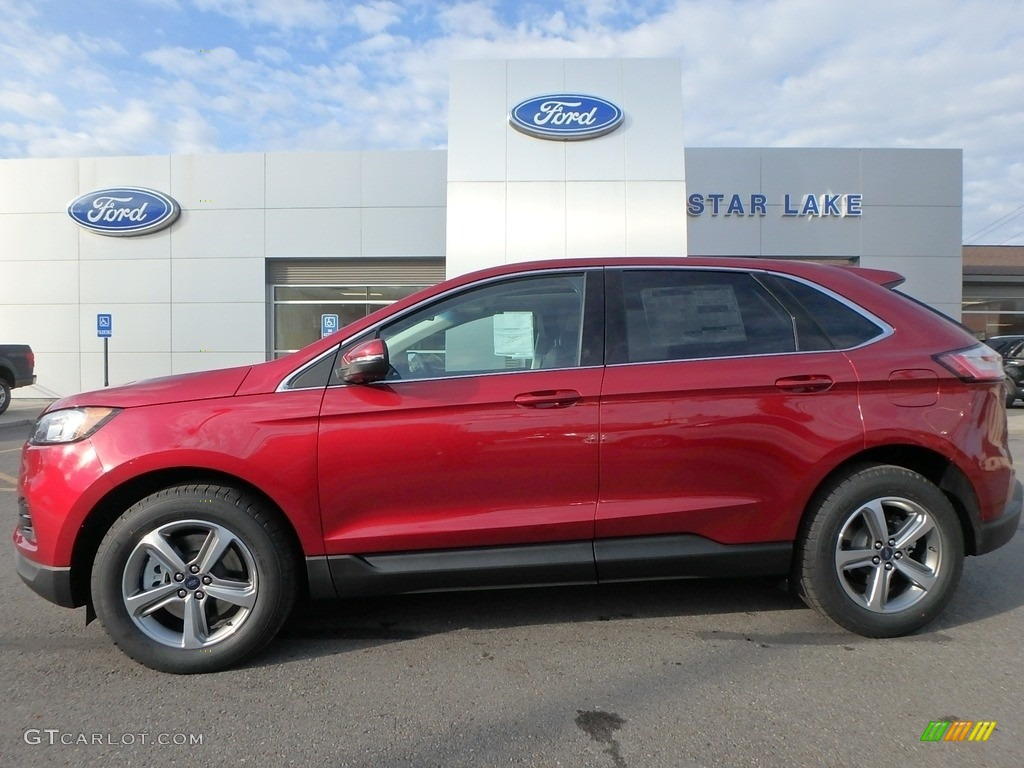 ruby red ford edge