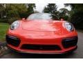 2018 Lava Orange Porsche 911 Turbo S Coupe  photo #10
