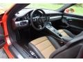 2018 Porsche 911 Espresso/Cognac Natural Interior Interior Photo