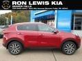 Hyper Red 2019 Kia Sportage EX AWD