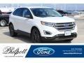 White Platinum 2018 Ford Edge SEL