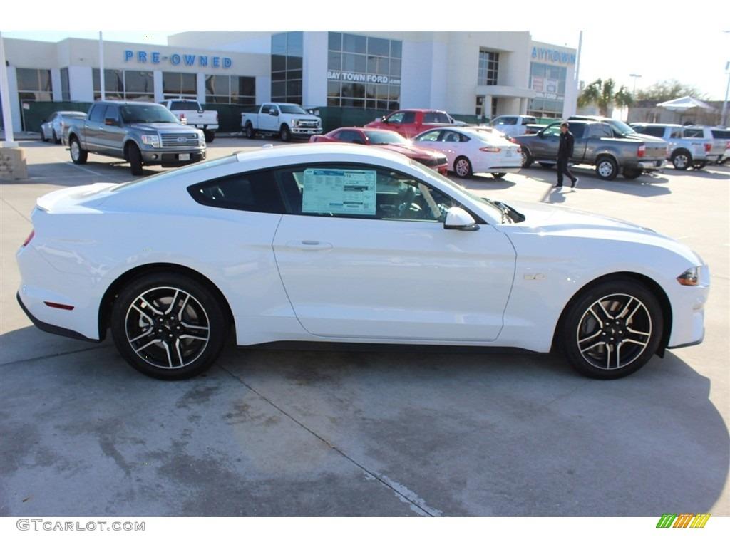 2018 Mustang GT Premium Fastback - Oxford White / Ebony photo #7