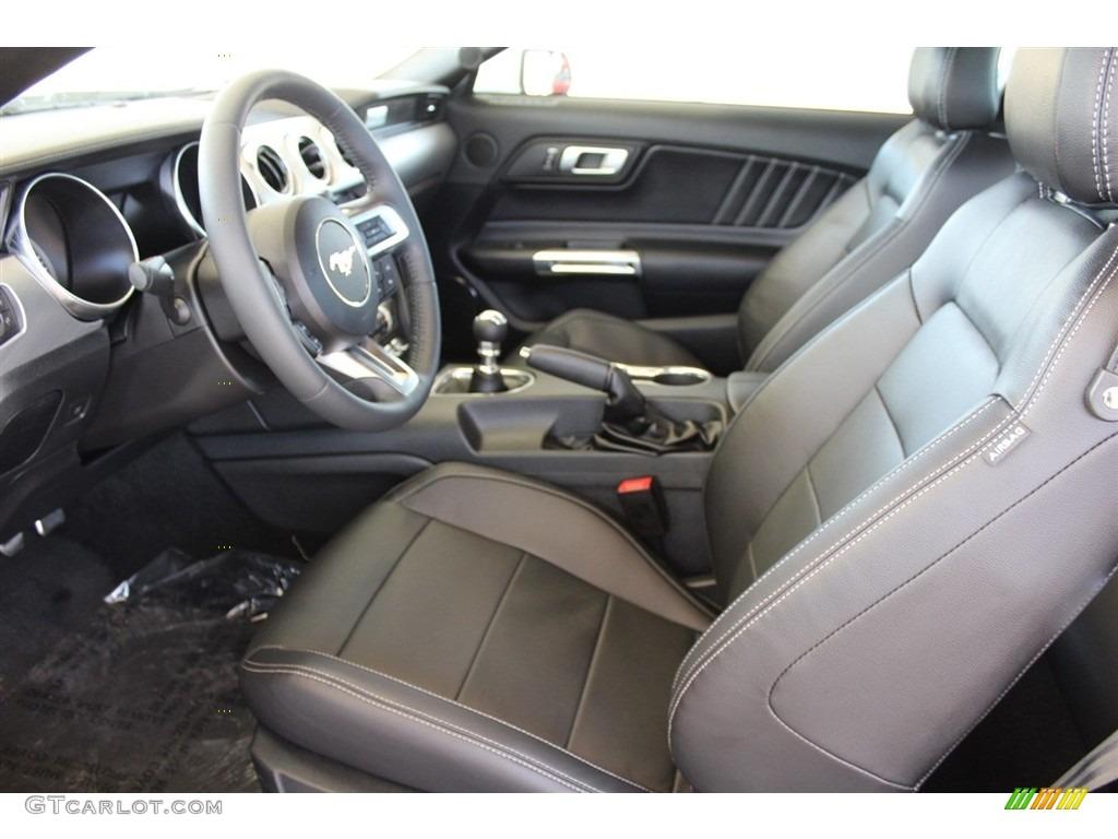 2018 Mustang GT Premium Fastback - Oxford White / Ebony photo #12