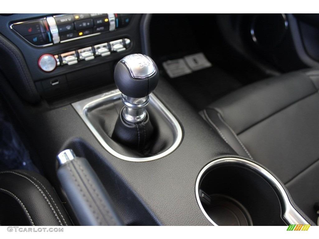 2018 Mustang GT Premium Fastback - Oxford White / Ebony photo #14