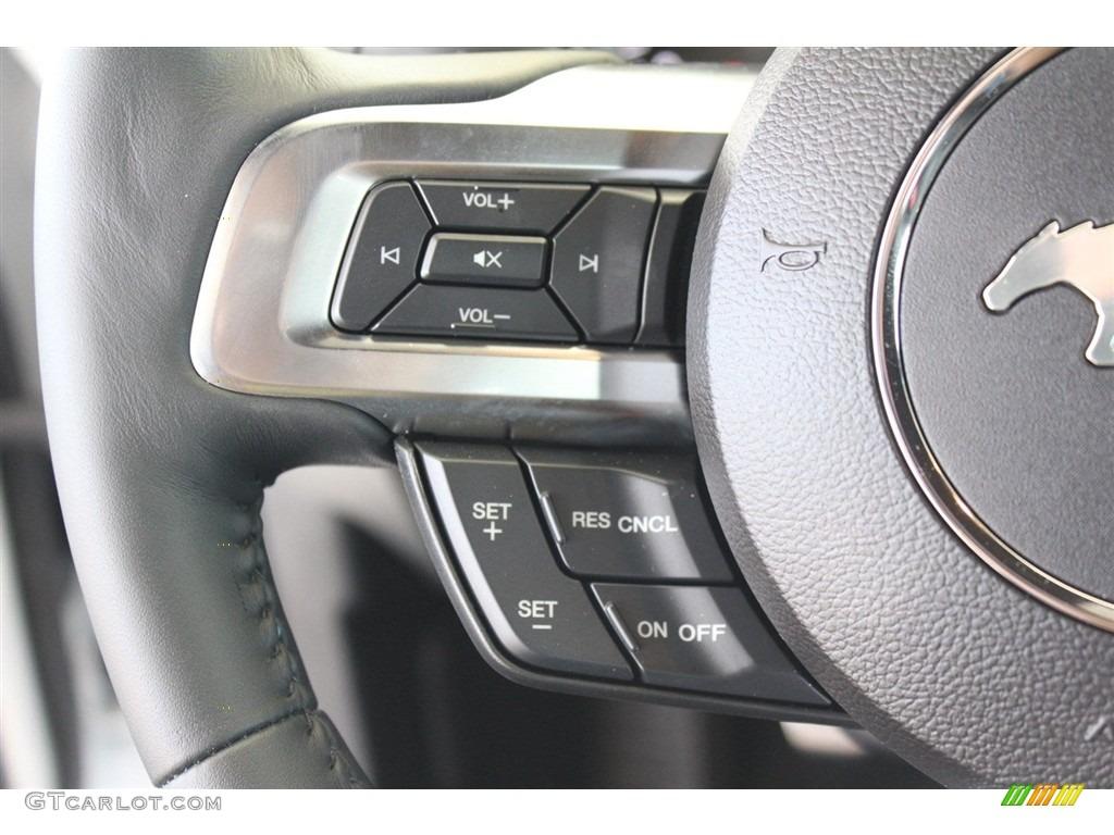 2018 Mustang GT Premium Fastback - Oxford White / Ebony photo #23
