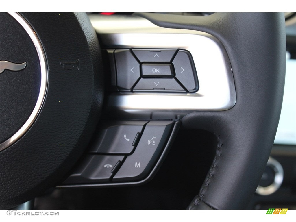 2018 Mustang GT Premium Fastback - Oxford White / Ebony photo #24