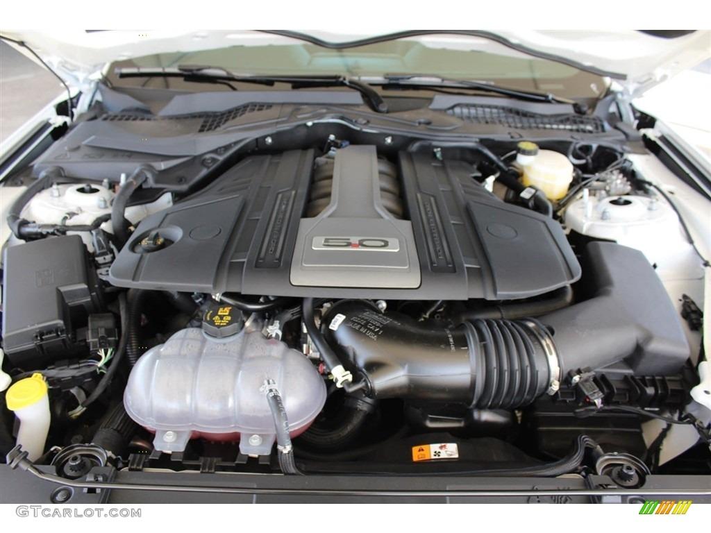 2018 Mustang GT Premium Fastback - Oxford White / Ebony photo #28