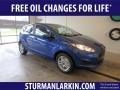 2018 Lightning Blue Ford Fiesta SE Hatchback #130224796