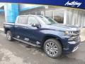2019 Northsky Blue Metallic Chevrolet Silverado 1500 High Country Crew Cab 4WD  photo #1