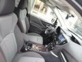 Front Seat of 2019 Forester 2.5i Sport