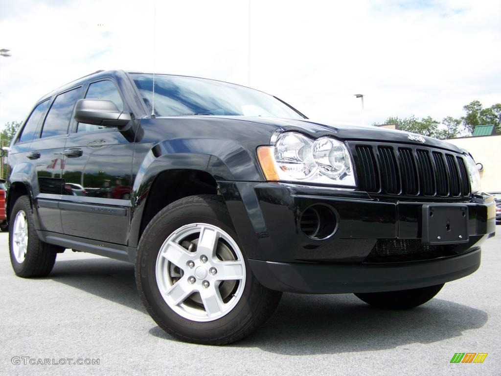 2007 black jeep grand cherokee laredo 4x4 12999650 car color galleries. Black Bedroom Furniture Sets. Home Design Ideas